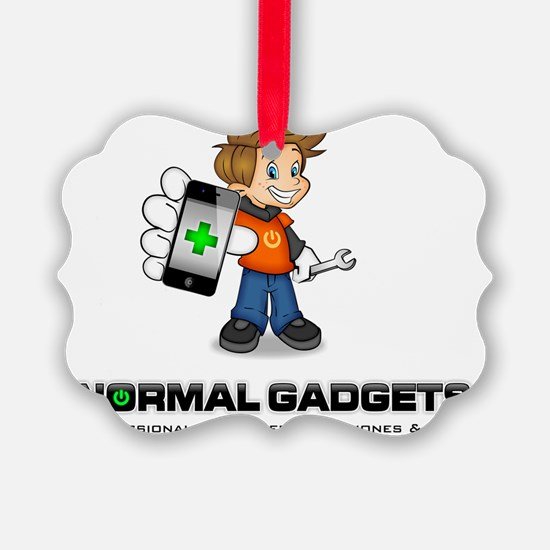 Gizmo with Title Picture Ornament