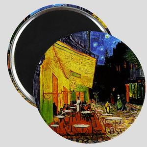 Van Gogh Cafe Terrace At Night Magnet