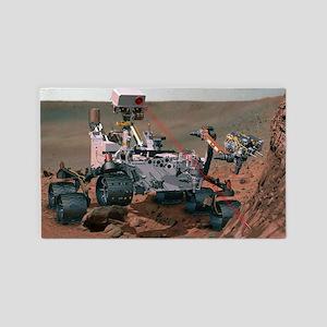 Rover Curiosity 3'x5' Area Rug
