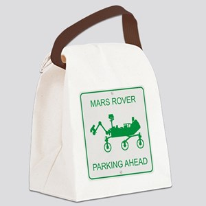 Mars Rover Parking Canvas Lunch Bag
