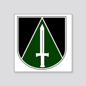 "Panzerbataillon 114 Square Sticker 3"" x 3"""