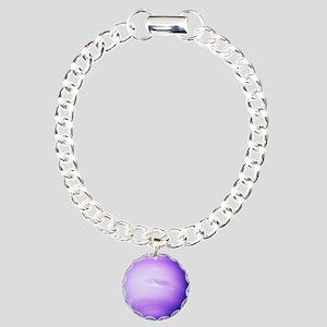 5x8_journal Charm Bracelet, One Charm