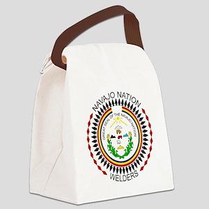 Navajo Nation Welders Canvas Lunch Bag