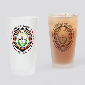 Navajo Nation Welders Drinking Glass