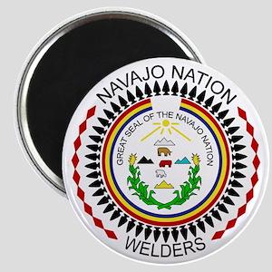 Navajo Nation Welders Magnet