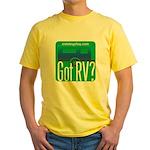 Got RVs Yellow T-Shirt