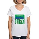 Got RVs Women's V-Neck T-Shirt