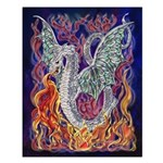 Dragon Fire Small 16x20 Poster