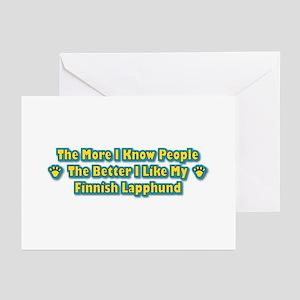 Like Lapphund Greeting Cards (Pk of 10)