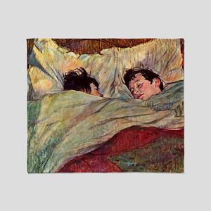 Toulouse Lautrec Throw Blanket
