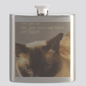 Cattitude Flask