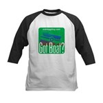 Got Boat? Kids Baseball Jersey