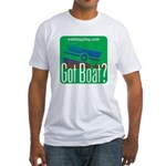 Got Boat? Fitted T-Shirt