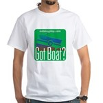 Got Boat? White T-Shirt