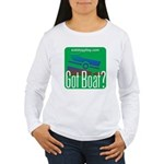 Got Boat? Women's Long Sleeve T-Shirt