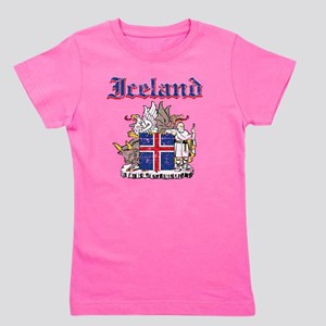 Iceland Coat of Arms Girl's Tee