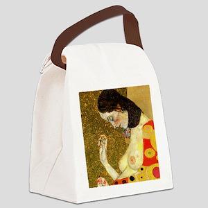 Gustav Klimt Hope Canvas Lunch Bag