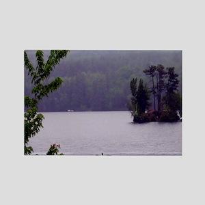 Moose Pond Rectangle Magnet