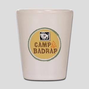 Camp BADRAP! Shot Glass