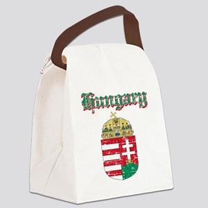 Hungarian Coat Of Arms Canvas Lunch Bag