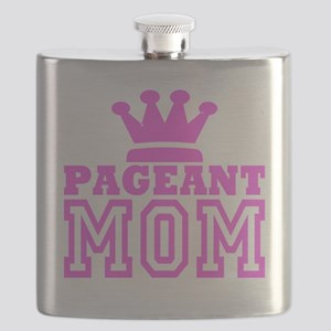 Pageant Mom Pink Generic Flask