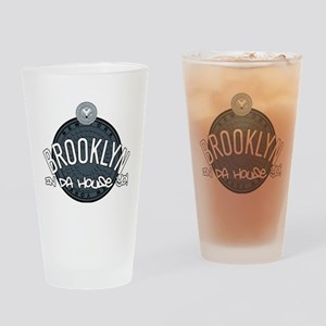 Brooklyn in the House Drinking Glass