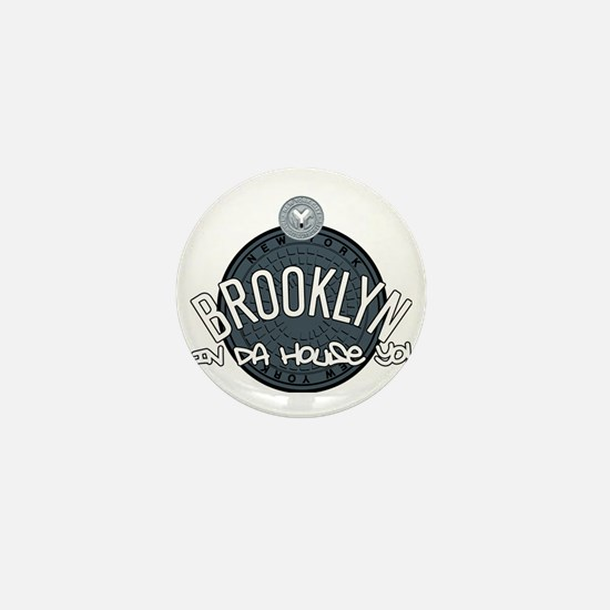 Brooklyn in the House Mini Button