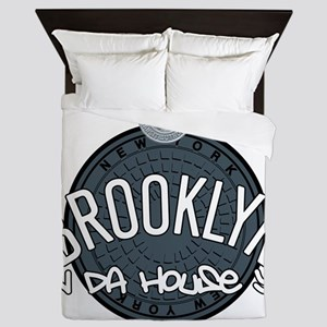 Brooklyn in the House Queen Duvet