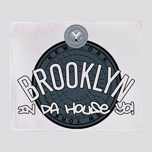 Brooklyn in the House Throw Blanket