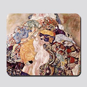 Gustav Klimt Babies Mousepad