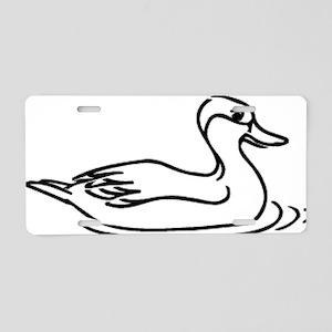 Duck_0048 Aluminum License Plate