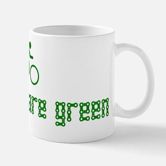 All Bikes Are Green Mug