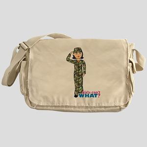 Army Woodland Camo Messenger Bag