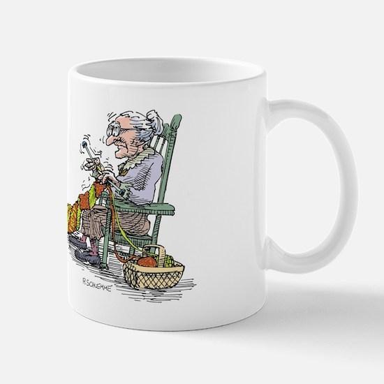 Grandma Knitting Frenzy Mug