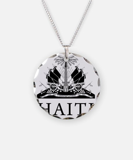 Haiti Coat Of Arms Necklace