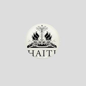 Haiti Coat Of Arms Mini Button