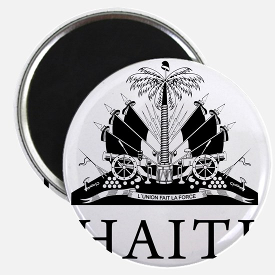 Haiti Coat Of Arms Magnet
