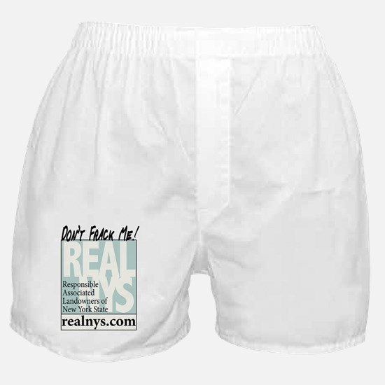 Dont Frack Me Logo Large Boxer Shorts