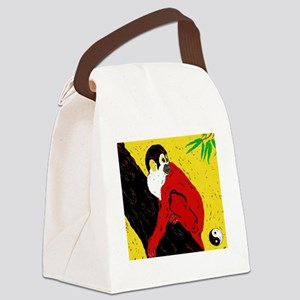 Repulse The Monkey Canvas Lunch Bag