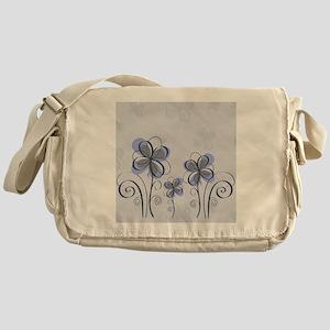 flowerpink3 Messenger Bag