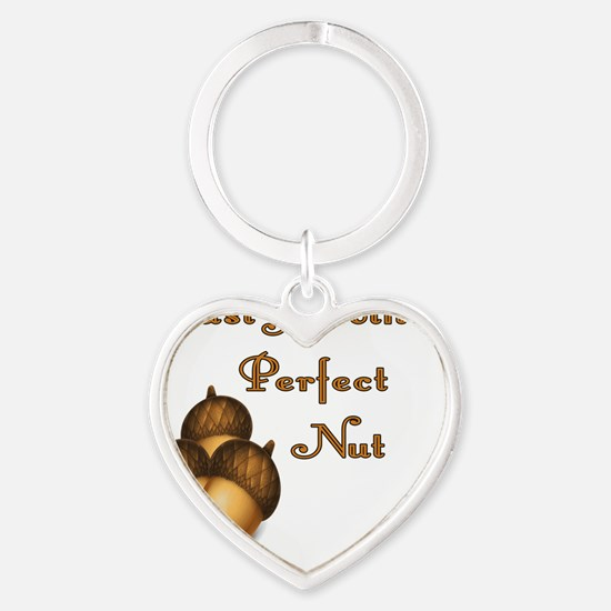 A Perfect Nut Heart Keychain