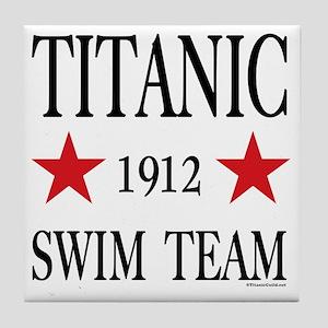 SwimTeam12x12TRANS Tile Coaster