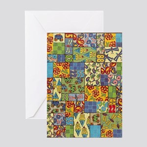 Quilt Greeting Card
