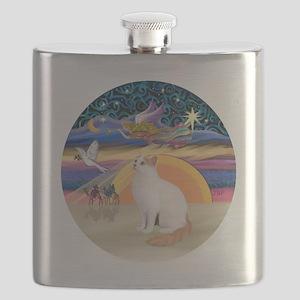XAngel-Turkish Van cat Flask