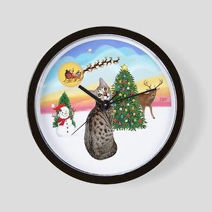 TakeOff - Bengal Cat1 Wall Clock