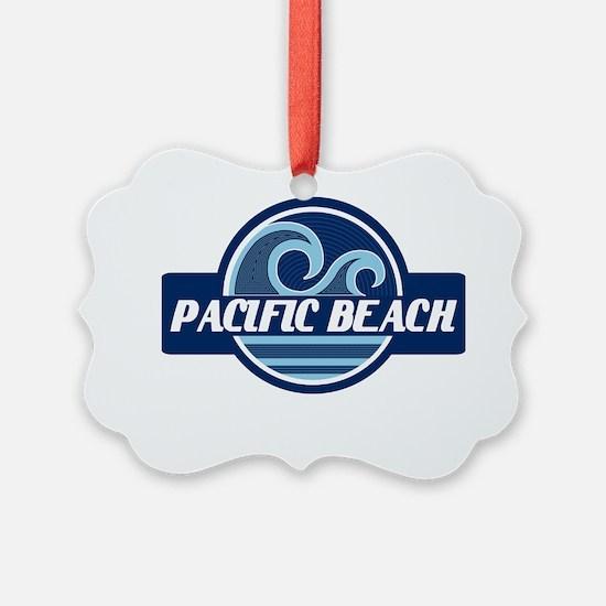 Pacific Beach Surfer Pride Ornament