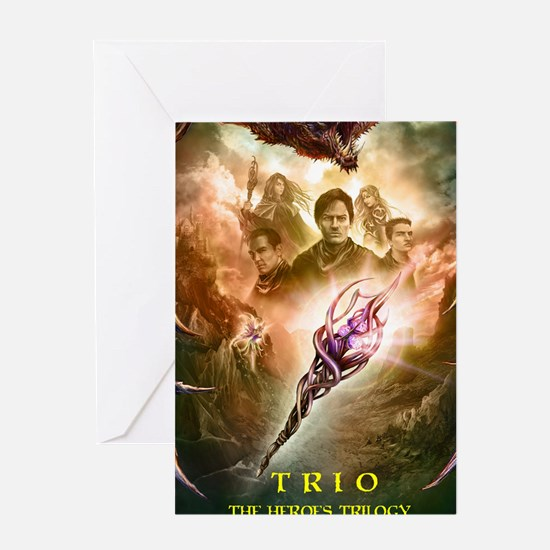 TRIO -The HEROES Trilogy Greeting Card