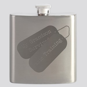 My Grandson survived basic training Flask
