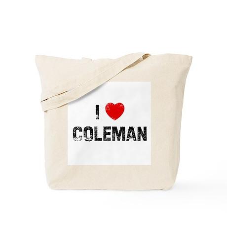 I * Coleman Tote Bag