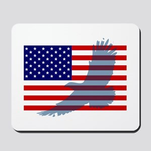 Flag  Eagle Patriot Mousepad